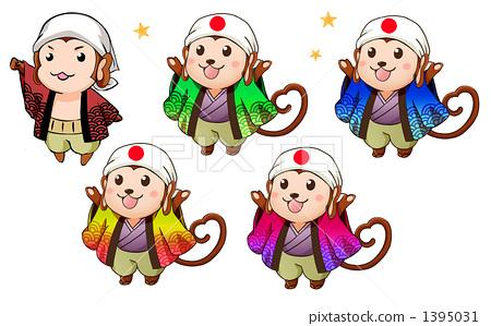 画猴子用什么颜色_猴子 颜色变化 宽松外衣
