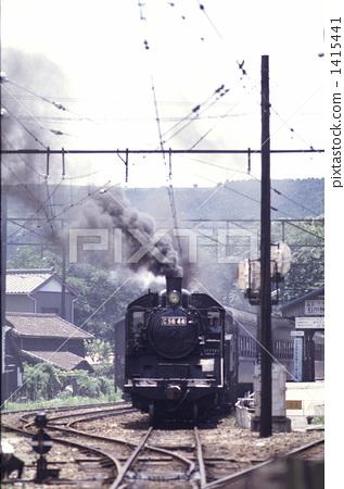 蒸汽机车 大井川铁道 岛田市