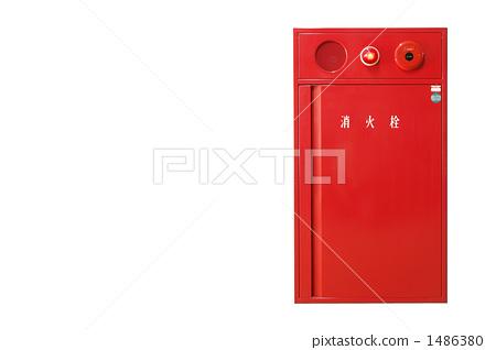 图库照片: 火灾报警器 灭火器 消防栓