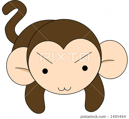 动物 动物宝宝 猴子
