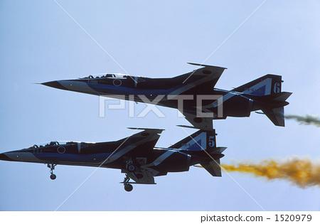 玩耍 纸飞机 蓝色冲击波 飞机 岐阜空军基地  *pixta限定素材仅在