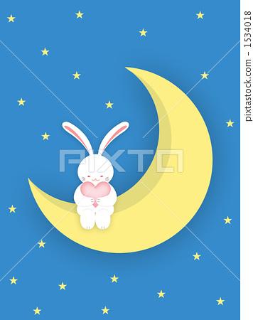 月亮 兔子 笑声