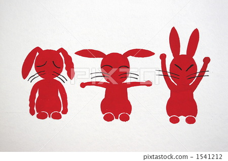 手工制作小白兔剪纸