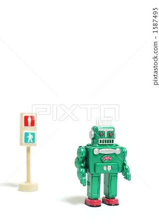交通灯 机器人 红绿灯