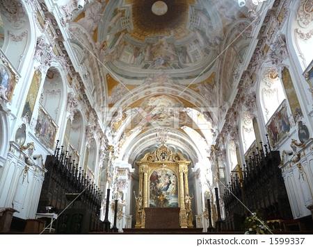 白色 欧洲 教堂