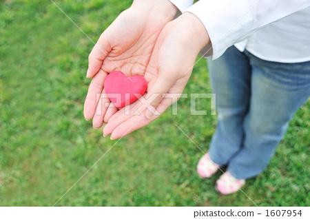 照片素材(图片): 手心人