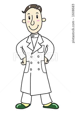 儿童医生简笔画图片