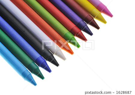 文具 首页 照片 文具 笔 蜡笔 绘画材料 蜡笔 文具  *pixta限定素材仅