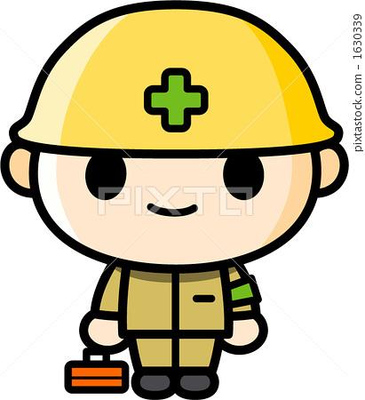 制造业_蓝领工人 蓝领工人 头盔 安全帽 蓝领工人  *pixta限定素材仅