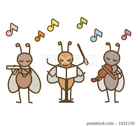 秋天的甲虫 音乐节 秋天的昆虫
