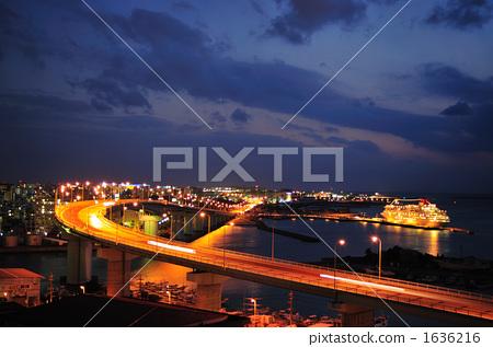苏州夜景高架图片