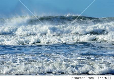 海平面 水滴 白浪