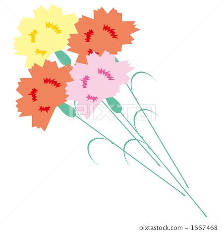 首页 插图 植物_花 花 康乃馨 康乃馨 插图 切花  *pixta限定素材仅在