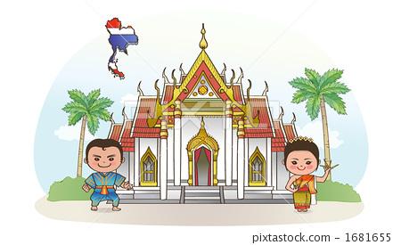 图库插图: 泰国 人 人物