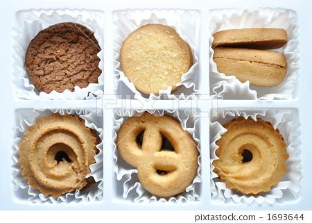 饼乾 西式甜点 糕点图片