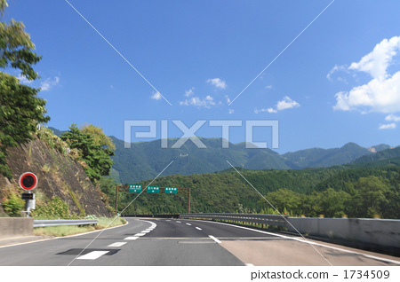 高速公路 风景 非城市场景