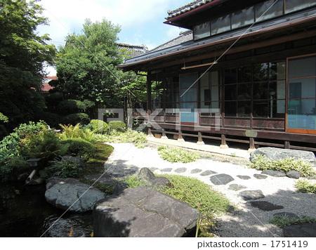 民居 日式房屋 游廊