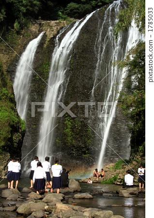 图库照片: 鹿儿岛瀑布 初中生 中学生