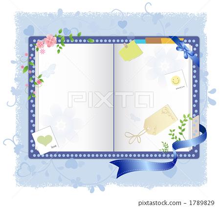 插图素材: 背景 书籍 书