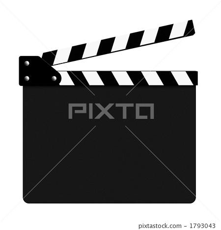 插图 姿势_表情_动作 构图 正面 场记板 隔板 项目  *pixta限定素材仅