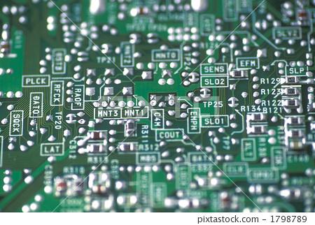印刷电路板 集成电路芯片