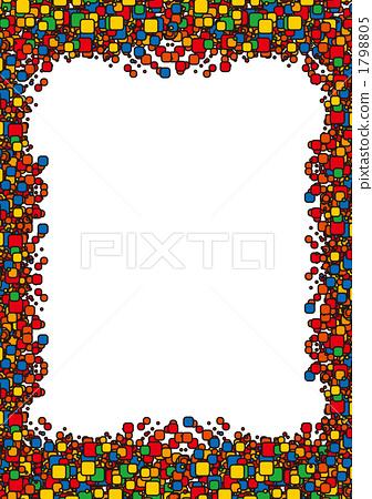 插图 背景_小物 小物 框架 框架 文字空间 留白 框架  pixta限定素材