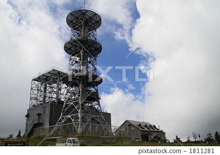 建筑 天线杆 无线电塔