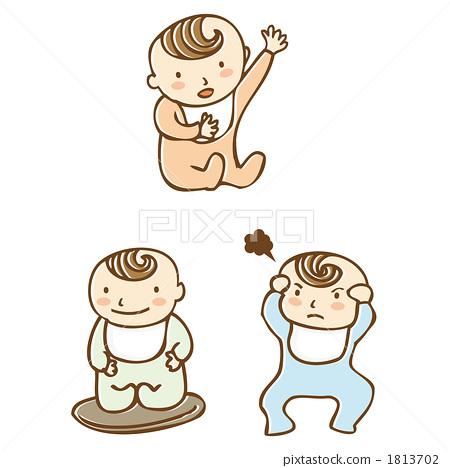 插图素材: 人物 婴儿 新生儿