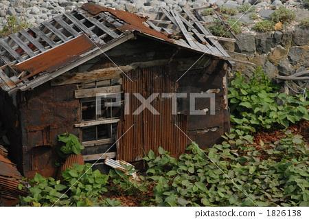 废弃的房屋 乡下 建筑