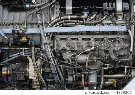 图库照片: 引擎 发动机 喷气发动机