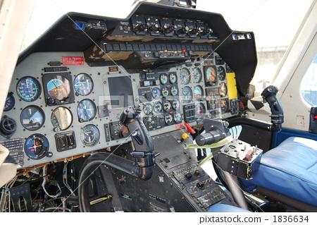 驾驶舱 直升机 飞机
