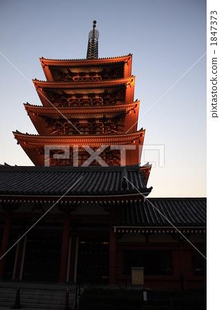 五重塔 寺院 庙宇