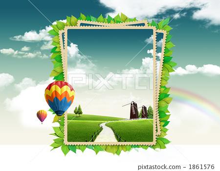 ppt 背景 背景图片 边框 模板 设计 相框 450_350