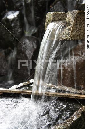 流体 激流 饮用水-图片素材 [1863074] - pixta