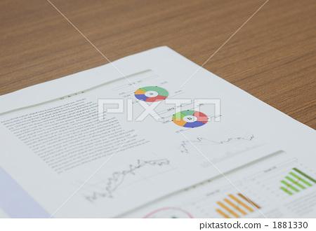 照片素材(图片): 资料 文件 纸