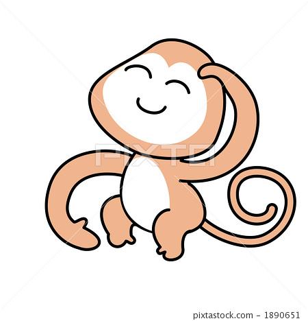 猴子 哺乳动物 动物宝宝