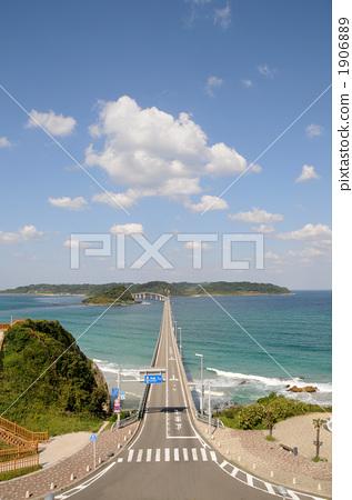 调停 角岛大桥 高架桥