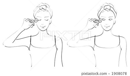 女人 女性 白色背景