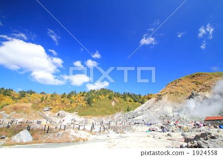 图库照片: 日本多摩川温泉 温泉 风景
