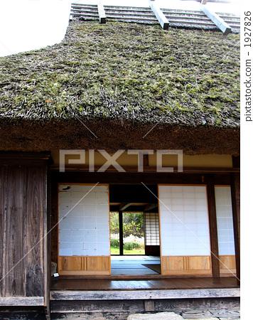 建筑 日式房屋 游廊