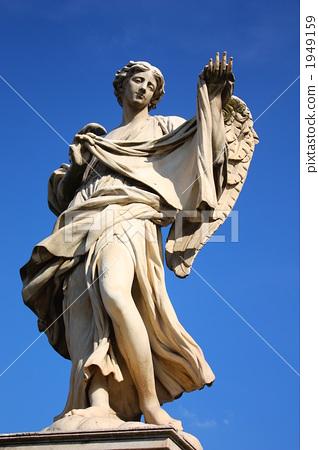 图库照片: 天使 天使雕像 圣天使城堡