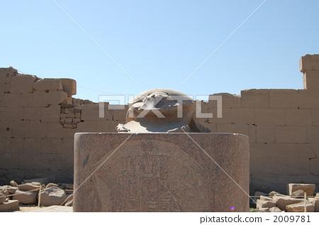 石像 卡纳克神庙 卢克索