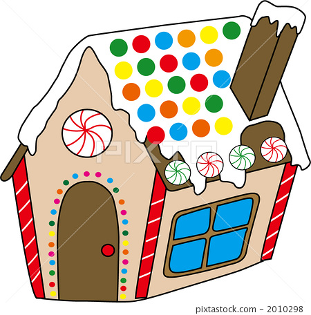 甜品 糖果 房屋