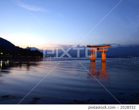 鸟居 神社拱门 日本的三大风景