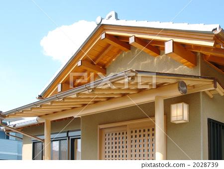 木制结构房屋 木屋 日式房屋