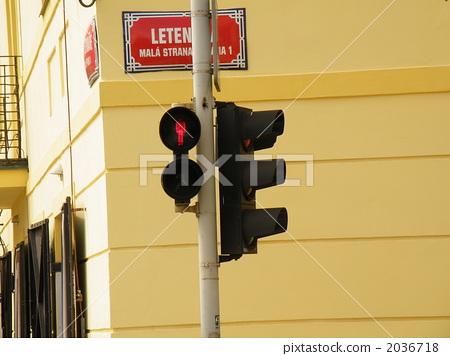 图库照片: 红绿灯 信号灯 交通灯