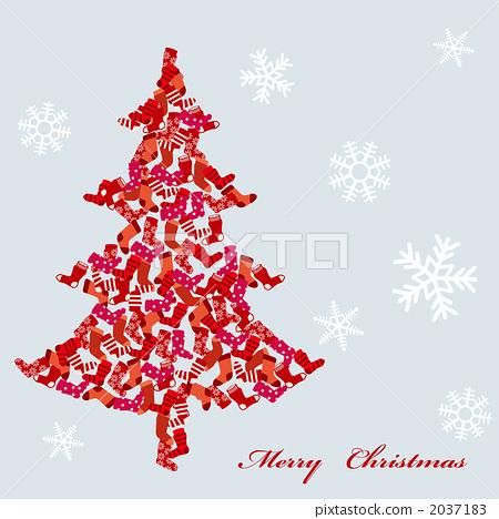 立体圣诞树剪纸步骤图解