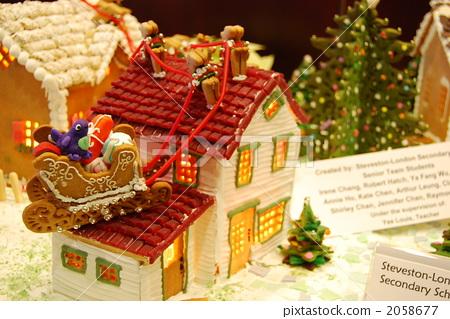 照片 生活方式_生活 餐 点心 甜食屋 圣诞节 耶诞  *pixta限定素材仅
