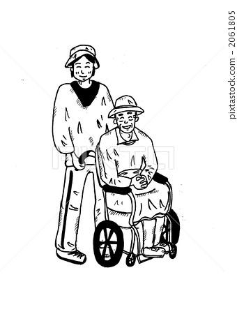 关于护理的简笔画图