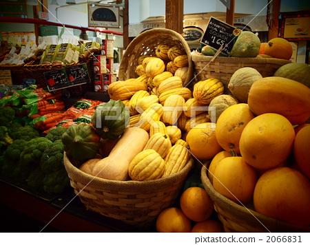 百货商店 蔬菜市场 菜市场 市场  pixta限定素材      蔬菜市场 菜